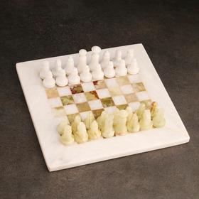 Шахматы «Элит», доска 20х20 см, оникс,Вид 3,