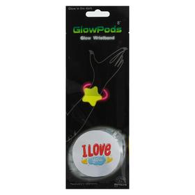 Неоновый браслет «Любовь»