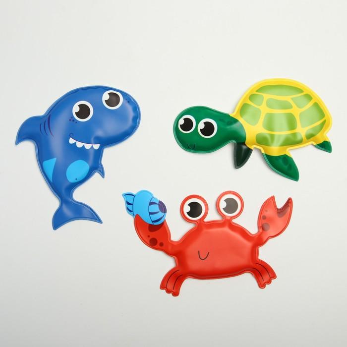 Игрушки для купания «Морские приключения», набор 3 шт.