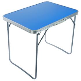 Стол туристический, складной, 70 х 50 х 60 см, цвет синий