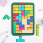 Тетрис малый «Цветная мозаика» МИКС - фото 105588946