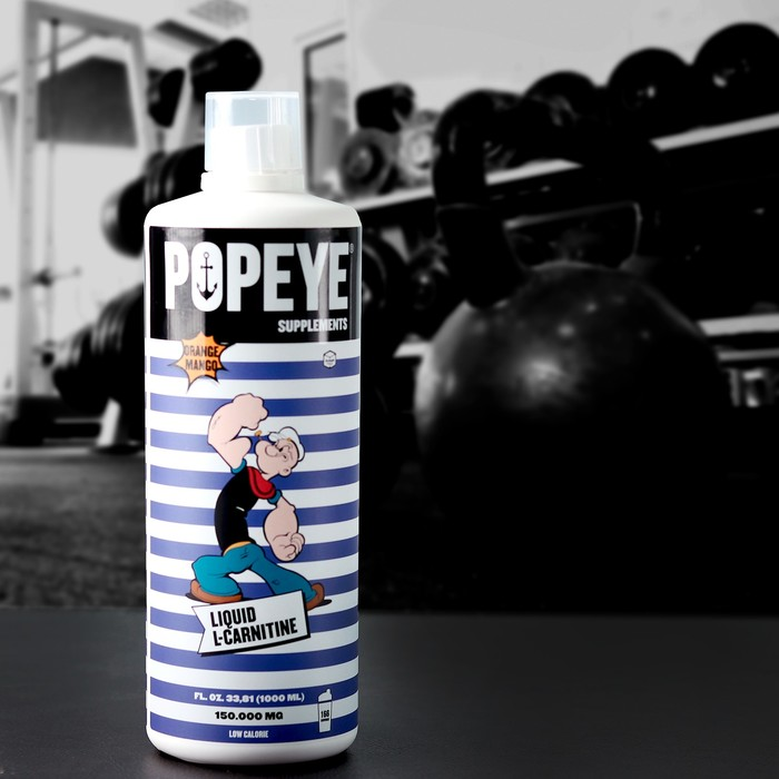 L-Карнитин POPEYE Supplenments L-Carnitine Concentrate, апельсин-манго, 1 л