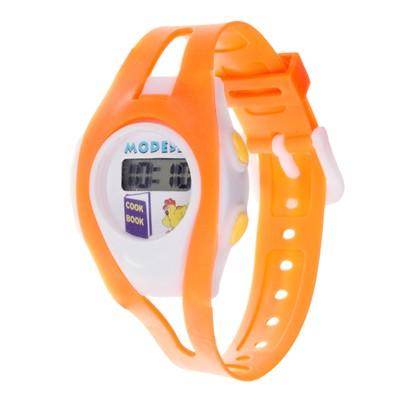 "Watches, clocks a ""Fun"" electronic, silicone strap, mix, l=18.5 cm"