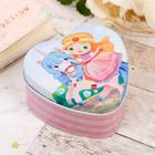 """Шкатулка в форме сердца """"Большие мечты маленькой принцессы"""""""