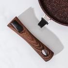 Сковорода Granit ultra, d=28 cм, съёмная ручка, антипригарное покрытие - фото 723520