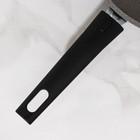 Сковорода, d=24 см, съёмная ручка, антипригарное покрытие, цвет светлый мрамор - фото 723631