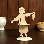 Салфетница «Крестьянка с платком», 25×18×0,3 см