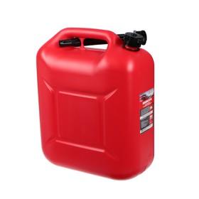 Канистра 3ton PROFI,  КРАСНАЯ для топлива + крышка и лейка, 20 л