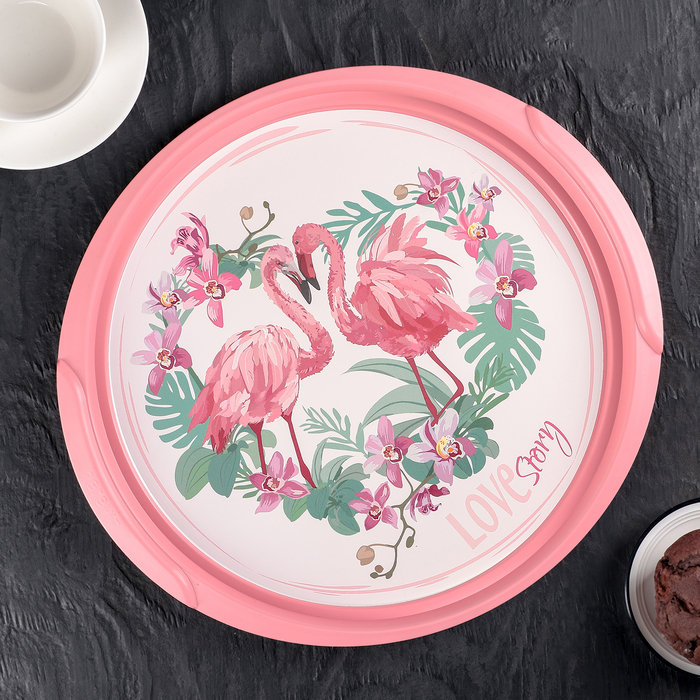 Поднос «Фламинго»