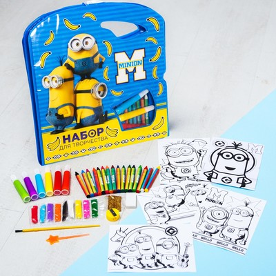 "Painting set ""Minions"" Despicable me"