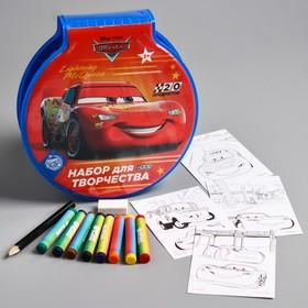 """Набор для рисования """"Самый быстрый"""" Тачки 20 предметов"""