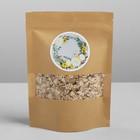 Пакет крафтовый без ручек с зип локом «Отличного настроения», 20 × 14 × 4 см