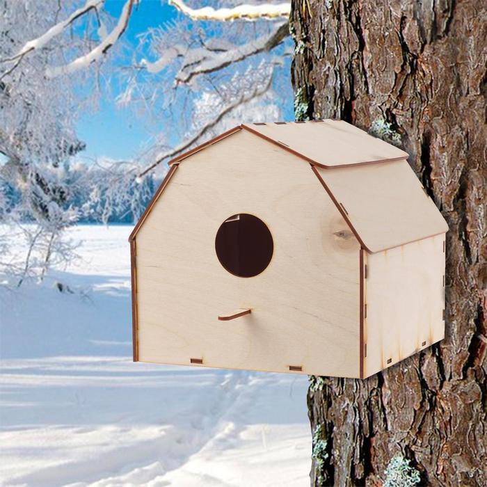 """Кормушка для птиц """"Домишко"""", 19×20×20 см"""