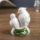 "Netsuke ""White ducks-mandarins"" 6,5х5х4,5 cm"