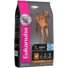 Сухой корм EUK Dog для взрослых собак крупных пород, ягненок, 12 кг