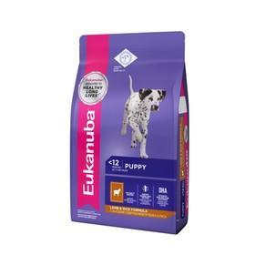 Сухой корм EUK Dog для щенков всех пород, ягненок, 2.5 кг