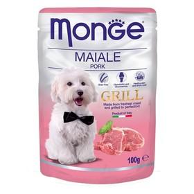 Влажный корм Monge Dog Grill Pouch для собак, свинина, 100 г Ош