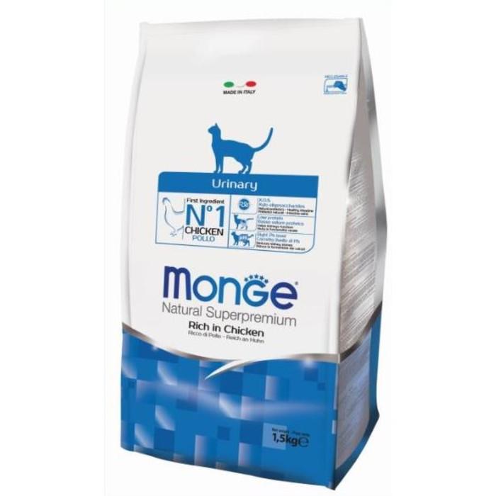 Сухой корм Monge Cat Urinary для кошек, профилактика МКБ, 1.5 кг