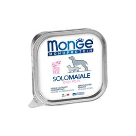 Влажный корм Monge Dog Monoprotein Solo для собак, паштет из свинины, ламистер, 150 г