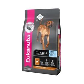 Сухой корм EUK Dog для взрослых собак крупных пород, ягненок, 2.5 кг