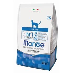 Сухой корм Monge Cat Urinary для кошек, профилактика МКБ, 400 г