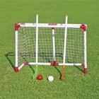 Набор детский для игры в хоккей на траве, цвет красный/белый