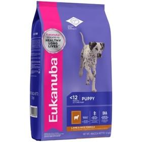 Сухой корм EUK Dog для щенков всех пород, ягненок, 12 кг
