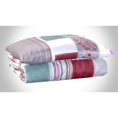 Set Country: blanket 1.5 SP, padding polyester 100 g/m + pillow 50x70 cm, PE 100%