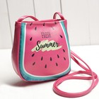 Детская сумочка Fresh Summer, на кнопке, цвет розовый
