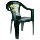 "Chair ""Florence"", color dark green"