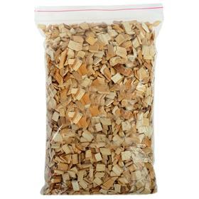 Щепа для копчения, в пакете, ольха, 1 дм3, фаркция 7-10 мм