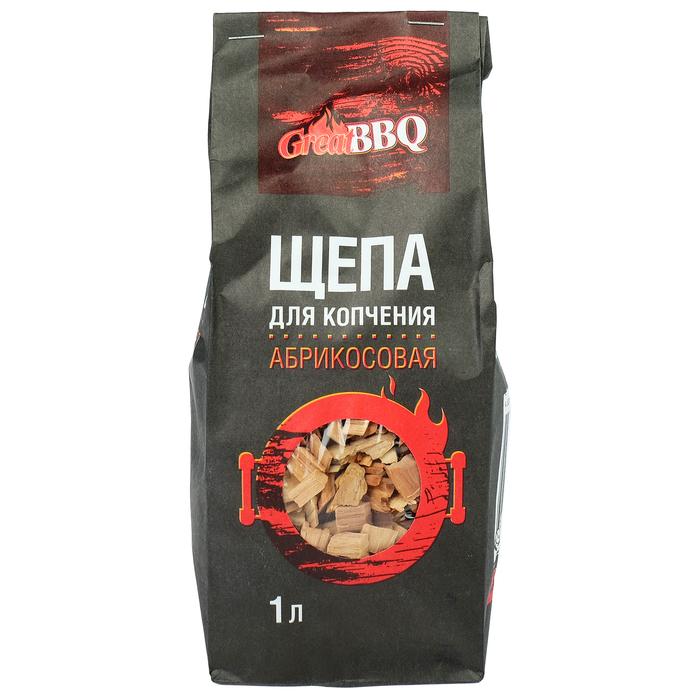 Щепа GreatBBQ, абрикос, 1 л