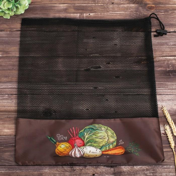 Сетка для хранения овощей «Капуста», 40 × 50 см