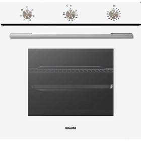 Духовой шкаф GRAUDE BE 60.2 W, электрический, 73 л, белый