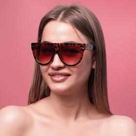 """Очки солнцезащитные """"Wayfarer"""", широкая оправа, широкие дужки, микс 14.5х5х2 см"""