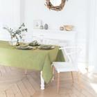 Скатерть Этель «Флоренс» 140×140 см полулён, 50% хлопок, 50% лён