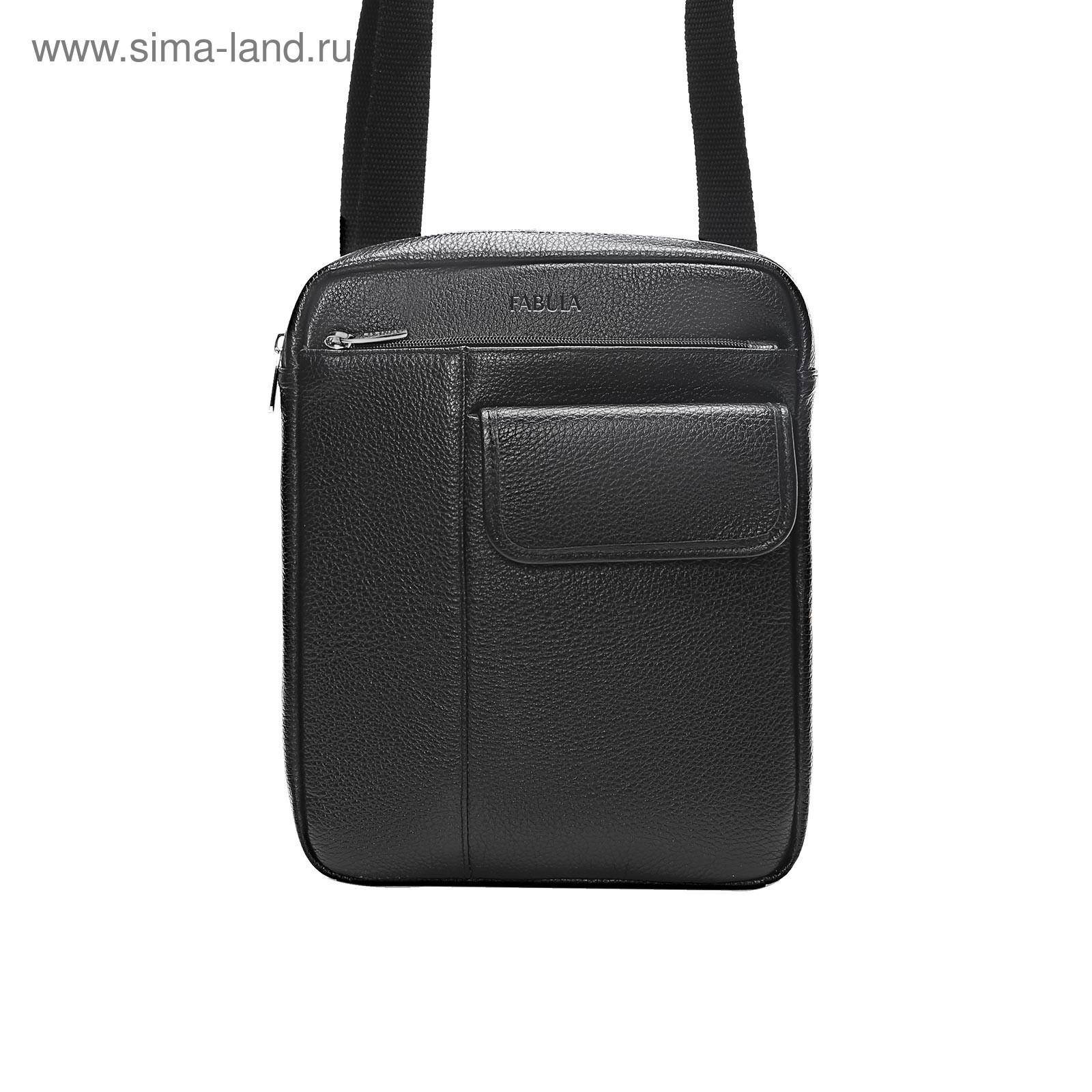 fa65070c1d56 Сумка мужская Fabula S.414.BK, чёрный (4300446) - Купить по цене от ...