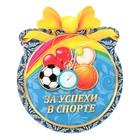 "Медаль ""За успехи в спорте"" мячи"