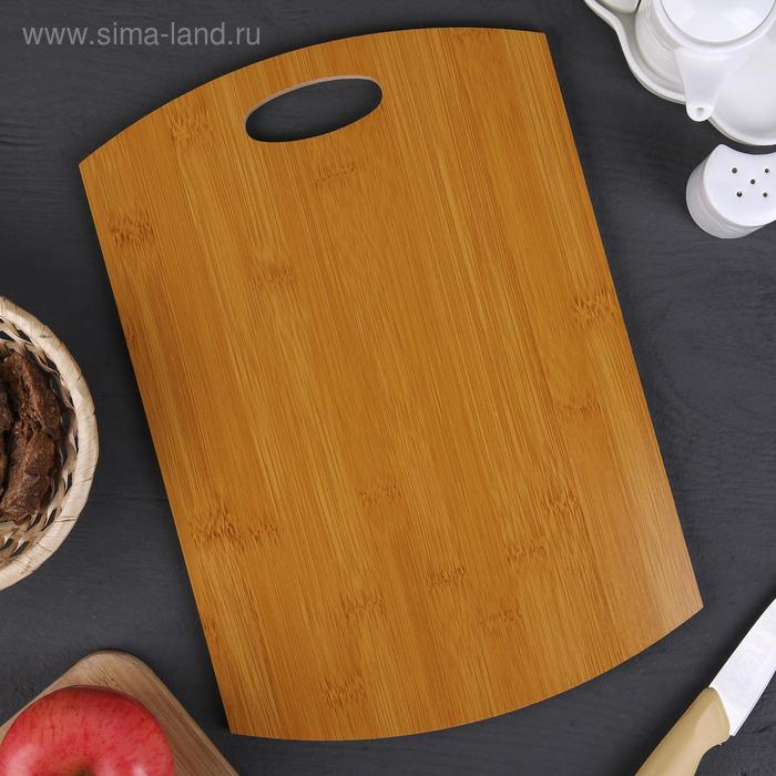 """Cutting Board """", Finara"""" 34х22х0,8 cm, bamboo"""