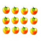 """Счётные карточки """"Считаем сами"""" Яблоки"""