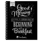 Тетрадь А5, 80 листов клетка на гребене Pierre Cardin Good Morning, ВД-лак