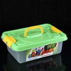Бокс универсальный для игрушек и продуктов 6 л, 35.9×24.2×12.4 см
