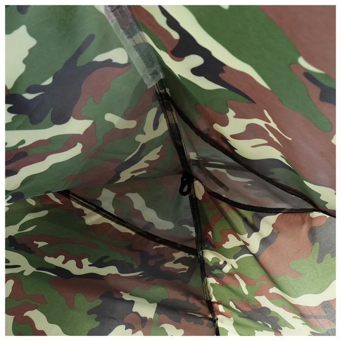 Палатка туристическая SANDE II, 205 х 150 х 105 см, 2-местная, цвет милитари - фото 36242