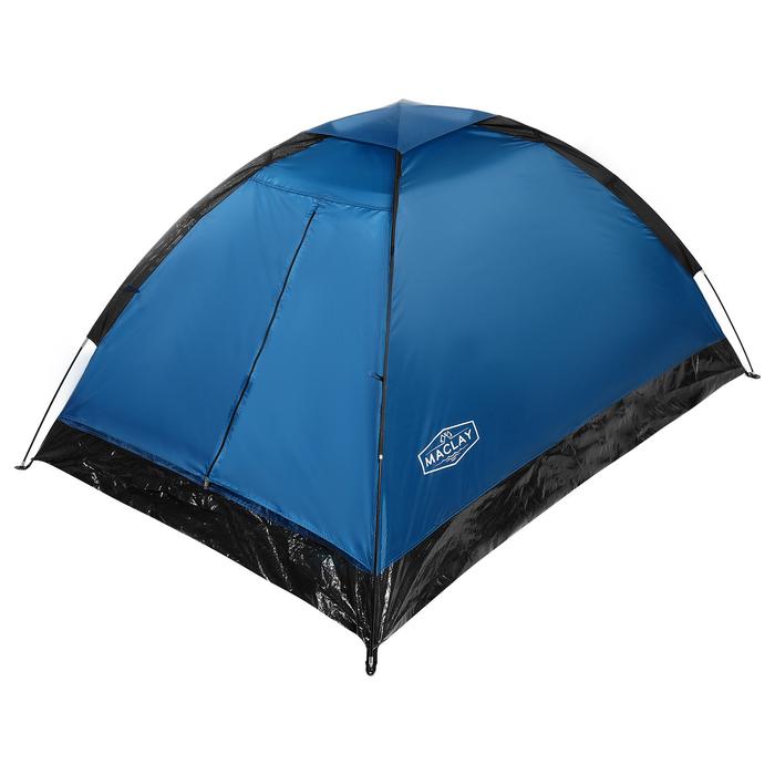 Палатка туристическая SANDE 205х150х105 см, 2-местная, цвет синий