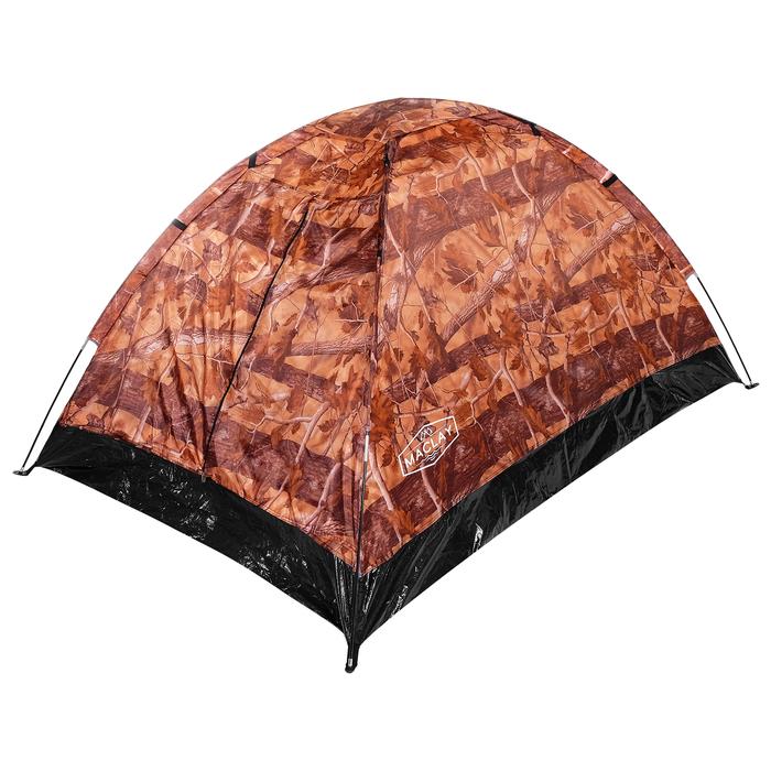 Палатка туристическая SANDE II, 205 х 150 х 105 см, 2-местная, цвет лес