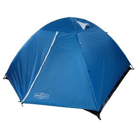 Палатка туристическая POLAR, 260 х 240 х 130 см, 4-местная, цвет синий