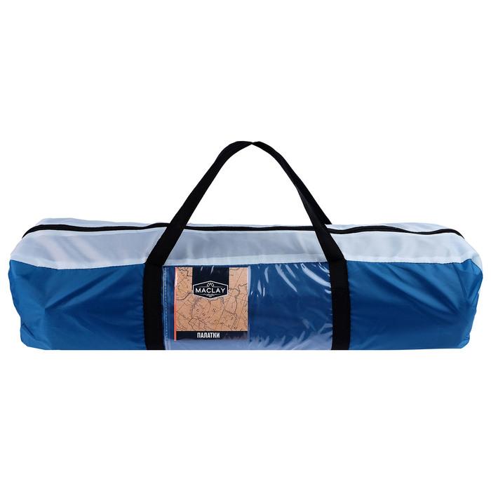 Палатка туристическая POLAR, 260 х 240 х 130 см, 4-местная, цвет синий - фото 36251