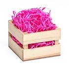 Наполнитель бумажный розовый неон, 100 г