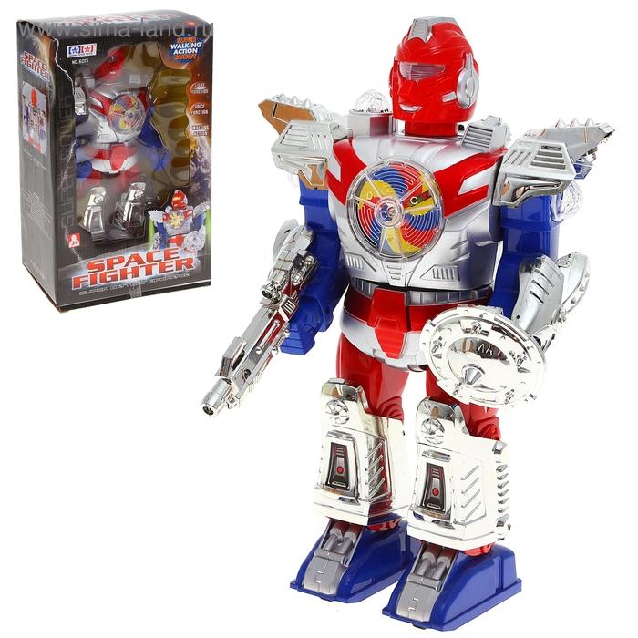 """Робот """"Защитник"""", световые и звуковые эффекты"""