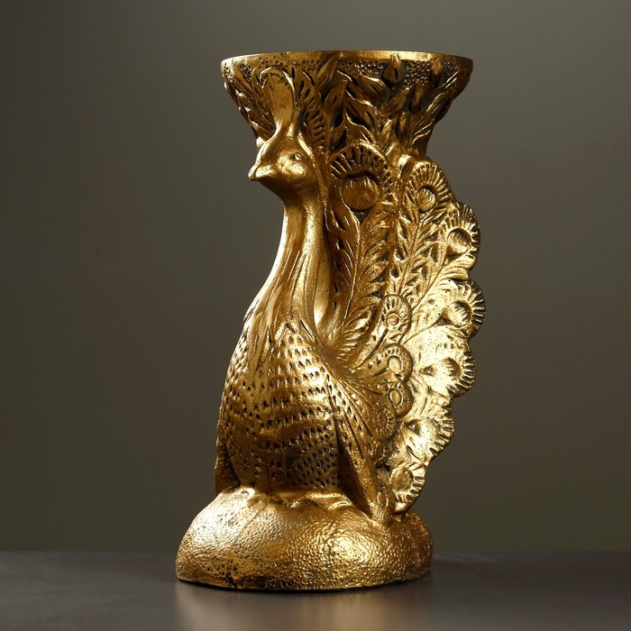 "Фигура - подставка ""Жар птица"" бронза 39х37х52см"